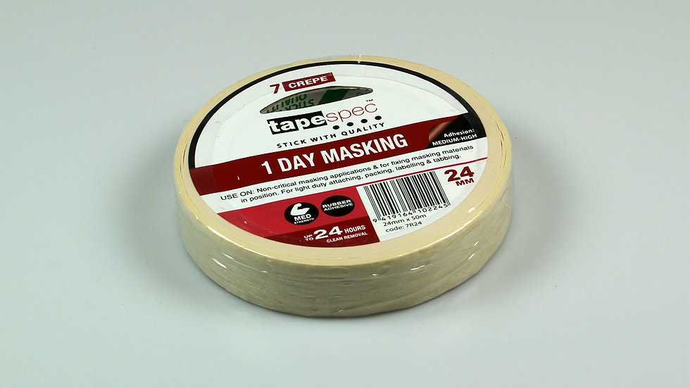 Masking Tape roll. 24x50mm