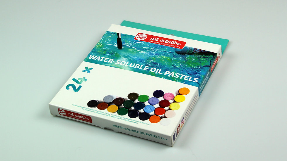 TAC Water-soluble Oil Pastels x 24 colours