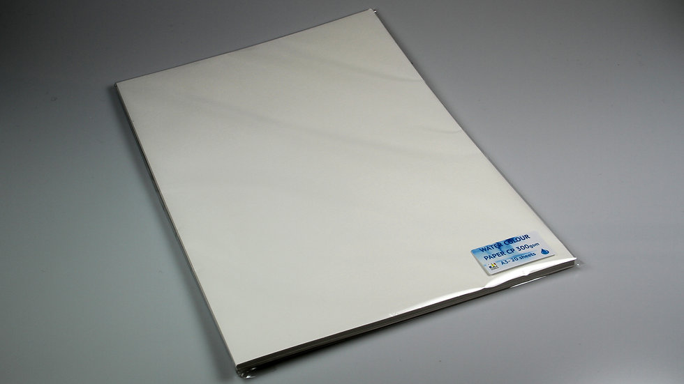 A3 Watercolour Paper Pack 20 sheets - 300gsm