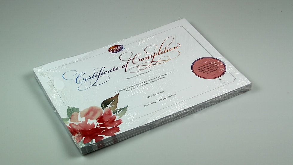 Certificates - Foundation