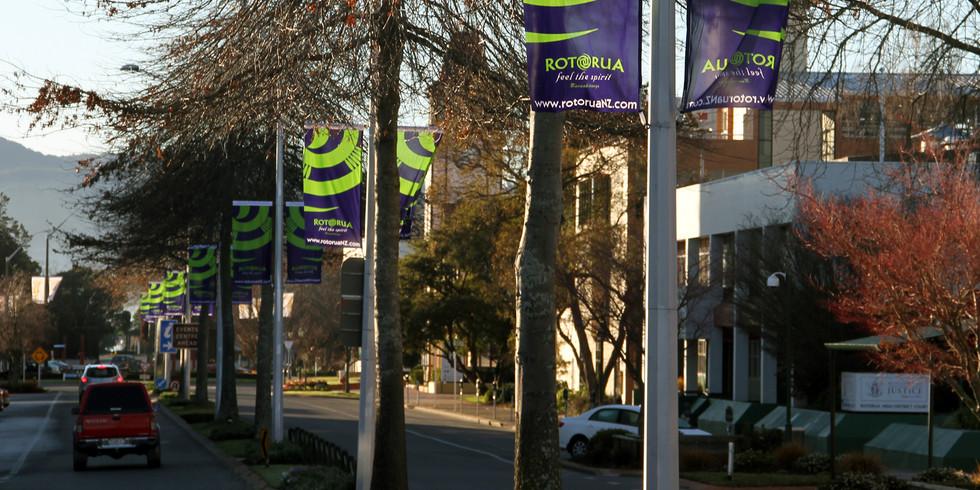 Rotorua Street Banners