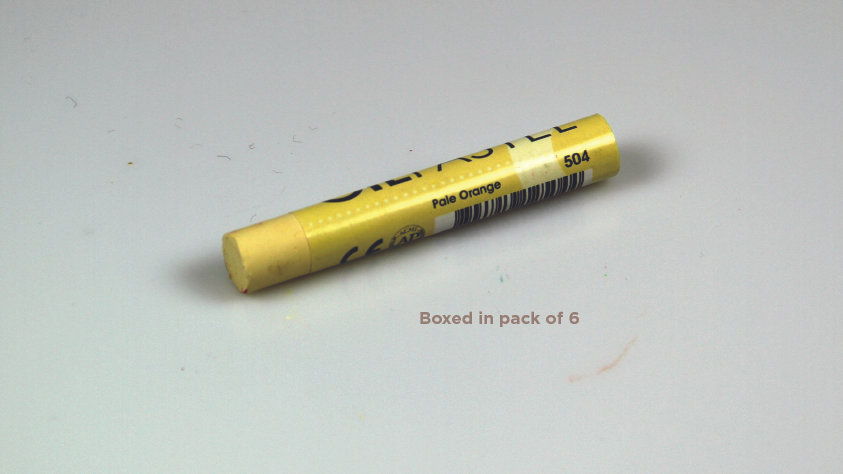 Mungyo Oil Pastel 6's  - Pale Orange 504