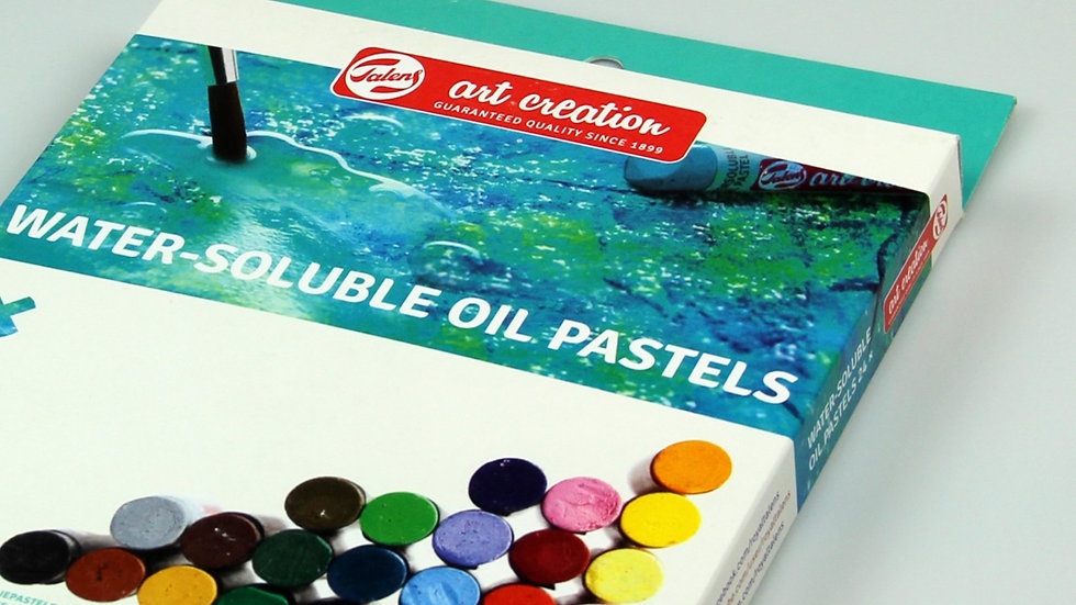 TAC Water-soluble Oil Pastels x 12 colours