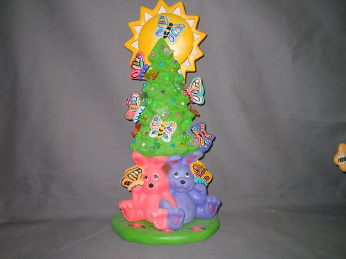 Cuddle Bunny Easter Tree