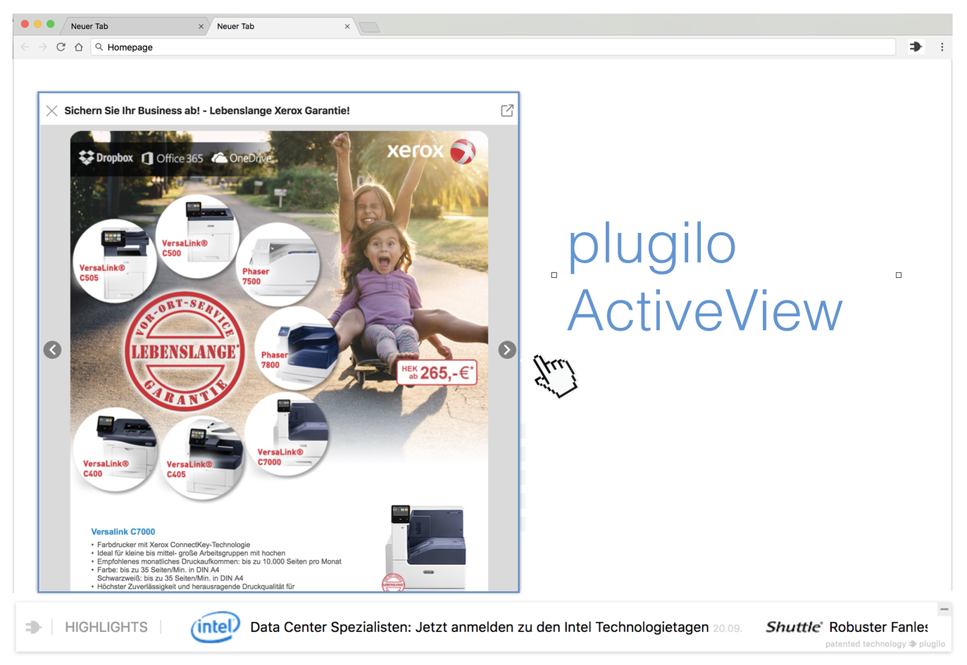 plugilo ActiveView