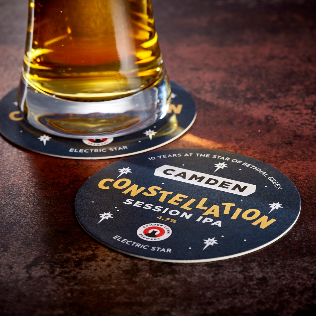 Camden Town Brewery Constellation Beer Mats
