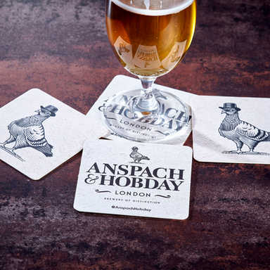 Anspach & Hobday Beer Mats