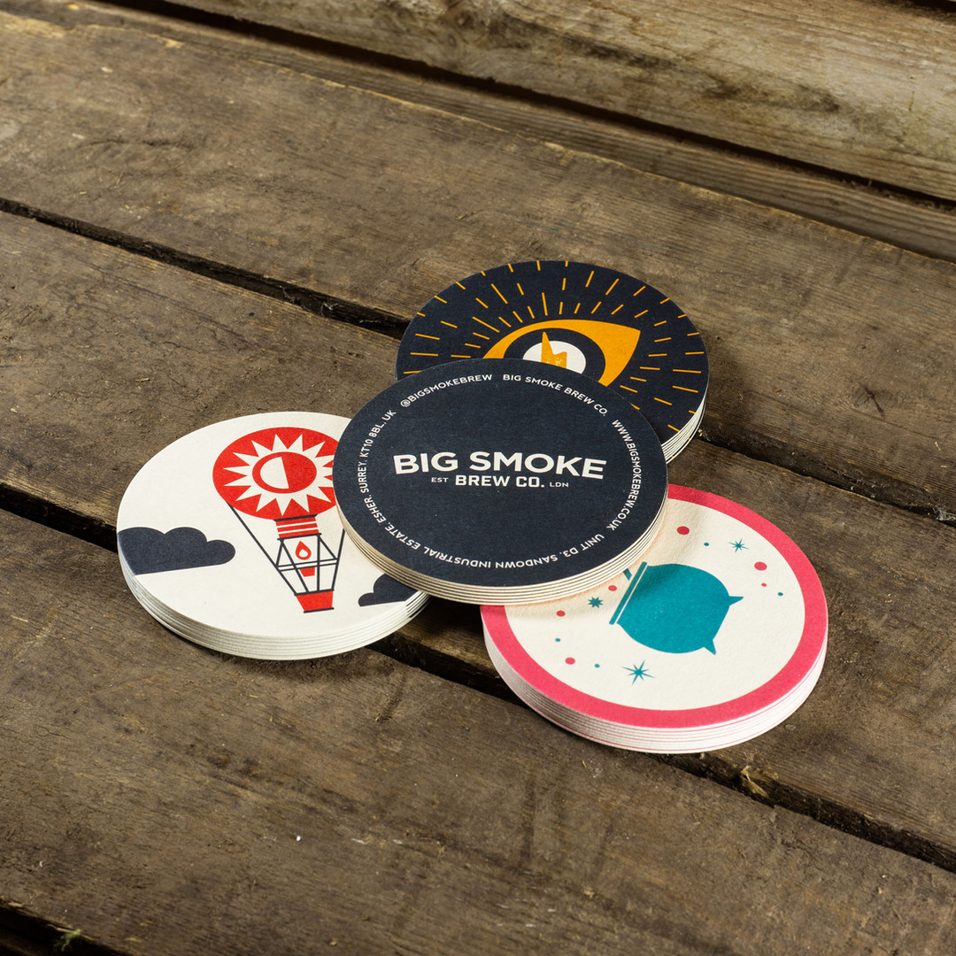 Big Smoke Beer Mats