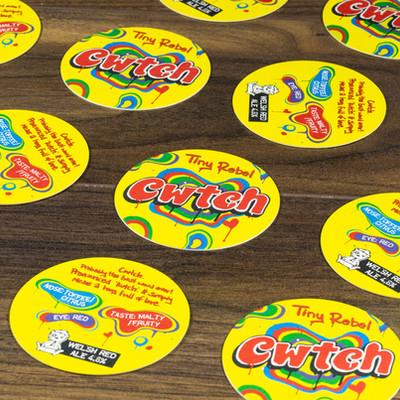 Tiny Rebel Cwtch Coaster
