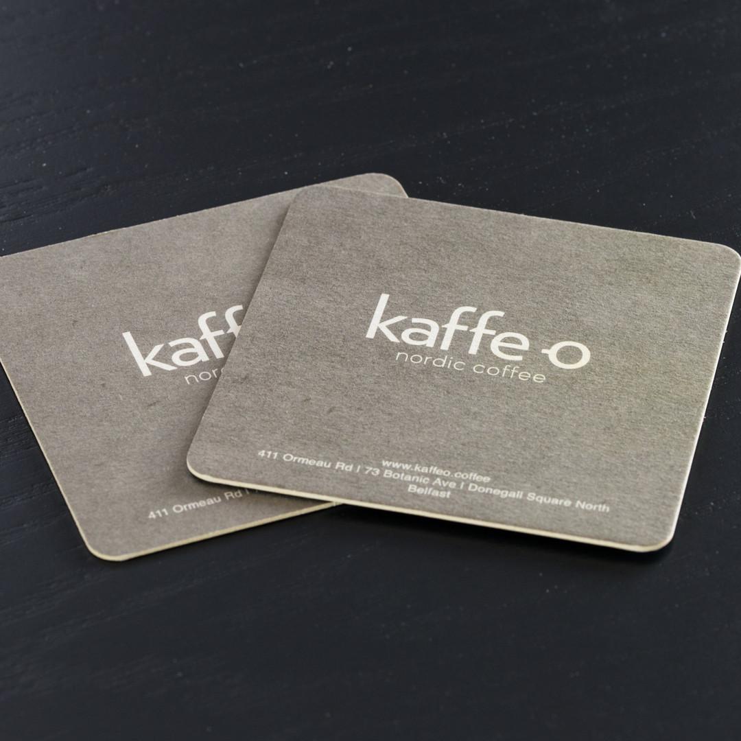 Kaffe O Coasters Fronts
