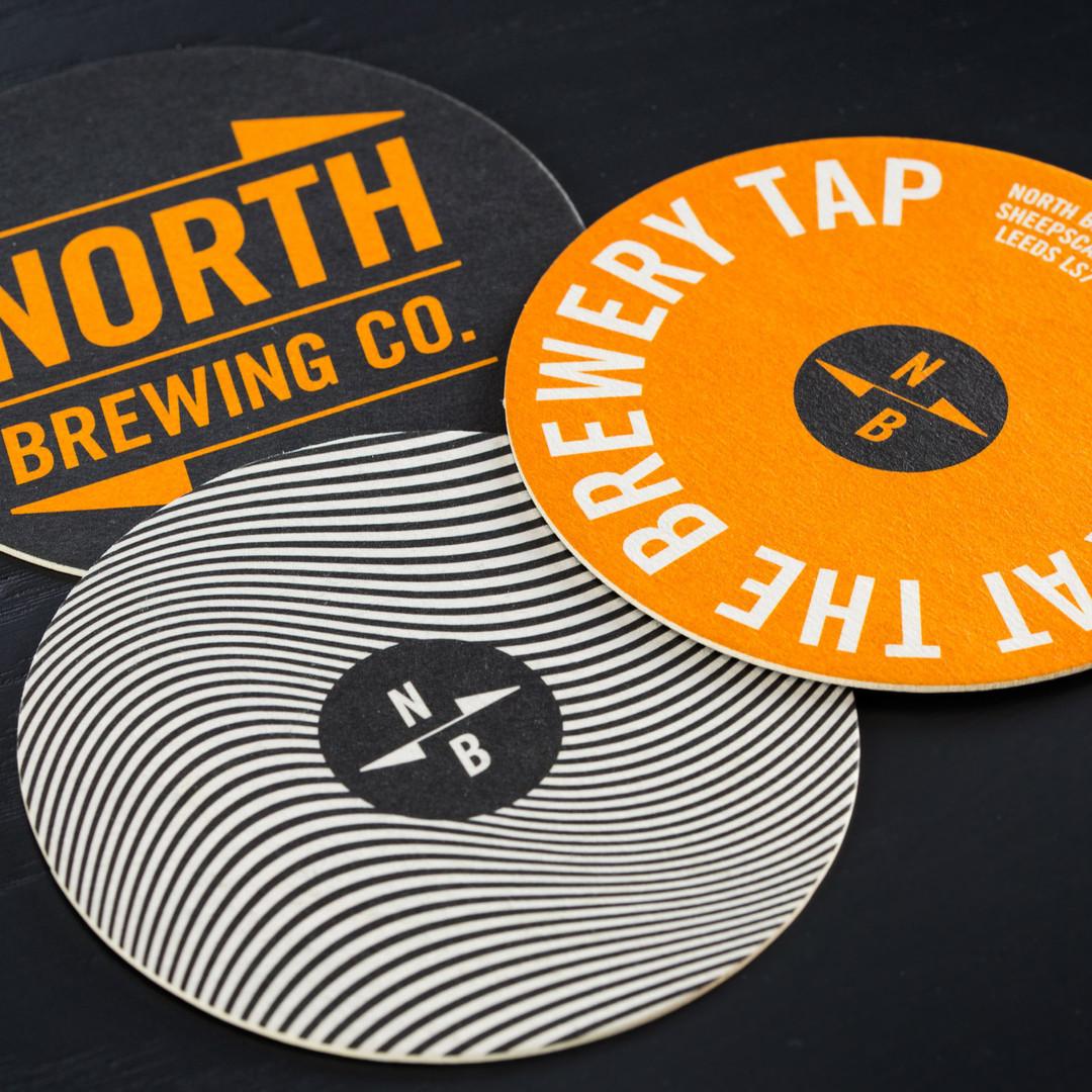 North Brewing Beer Mats