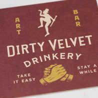 Dirty Velvet Beer Mats