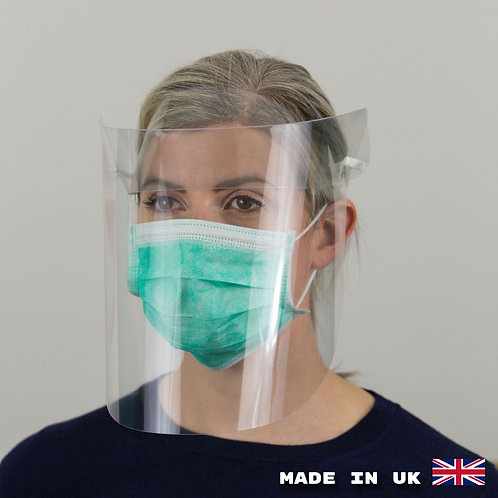 Medical PPE Visors Face Shields (Various pack sizes)