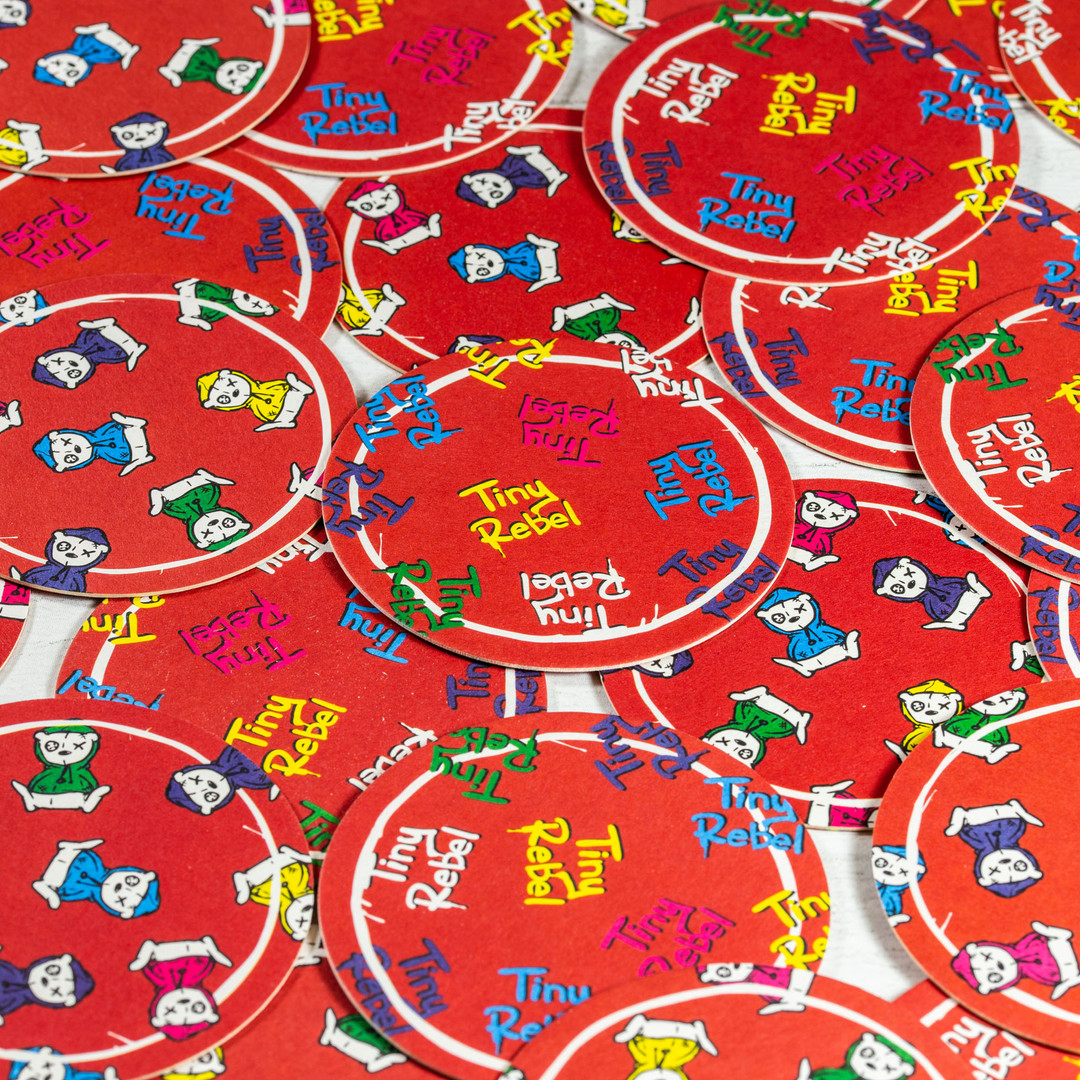 Tiny Rebel Red Beer Mats