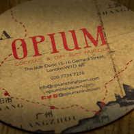 Opium Dim Sum Coaster