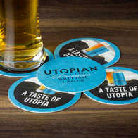 Utopian Brewing Beer Mats