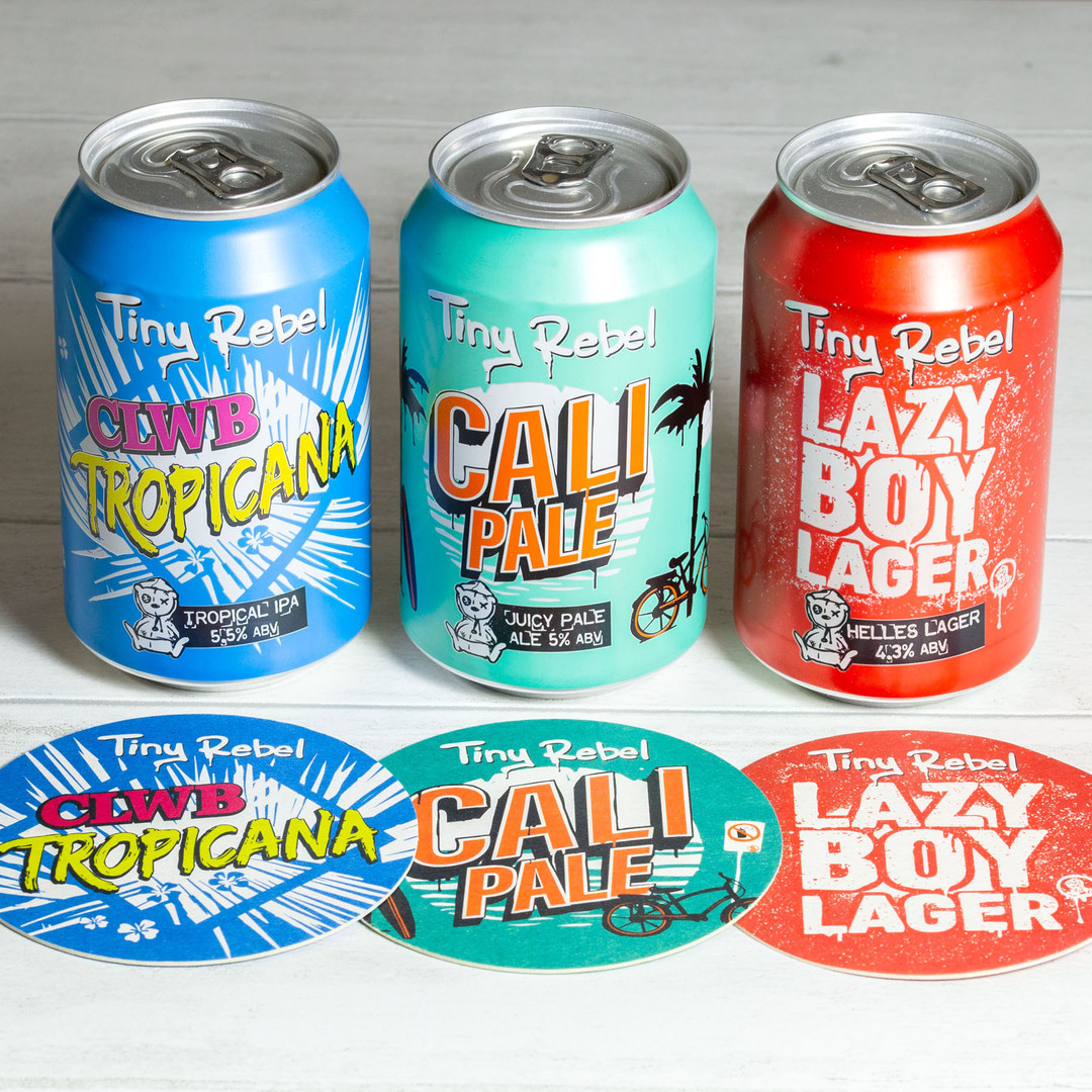 Tiny Rebel Cans