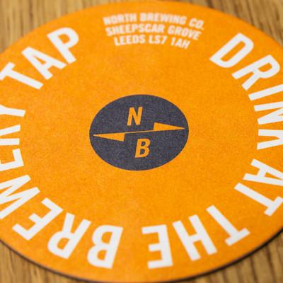 North Brewing Tap Orange Mat
