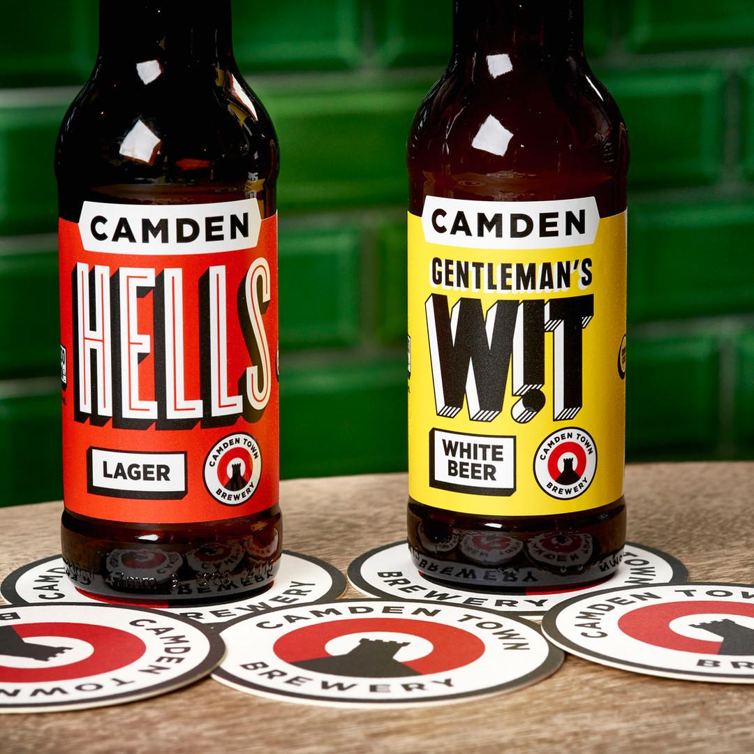 Camden Town Brewery Beer Mats Hells Wit