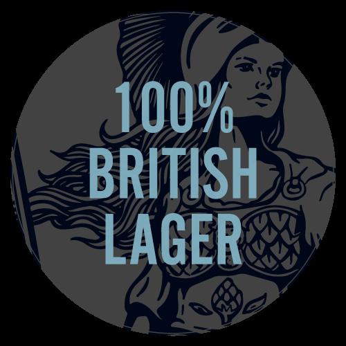 Utopian Lager Taste Beer Mat Back