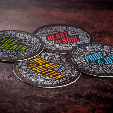 Vocation Brewery Beer Mats