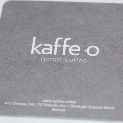 Kaffe O Beer Mat Front