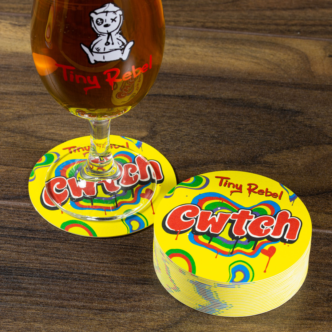 Tiny Rebel Cwtch Beer Mats