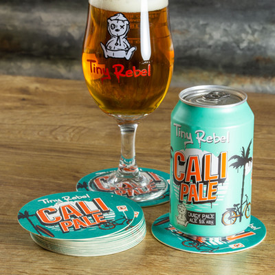 Tiny Rebel Cali Pale Beer Mats