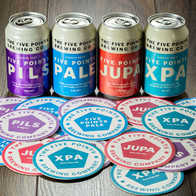 Five Points Brewing Beer Mats