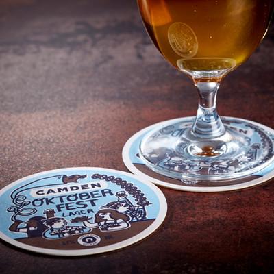 Camden Town Brewery Oktober Fest Coasters