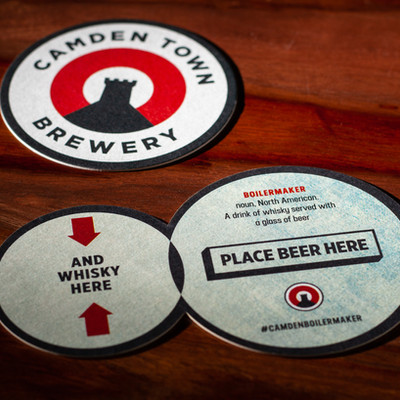 Camden Town Brewery Beer Mats