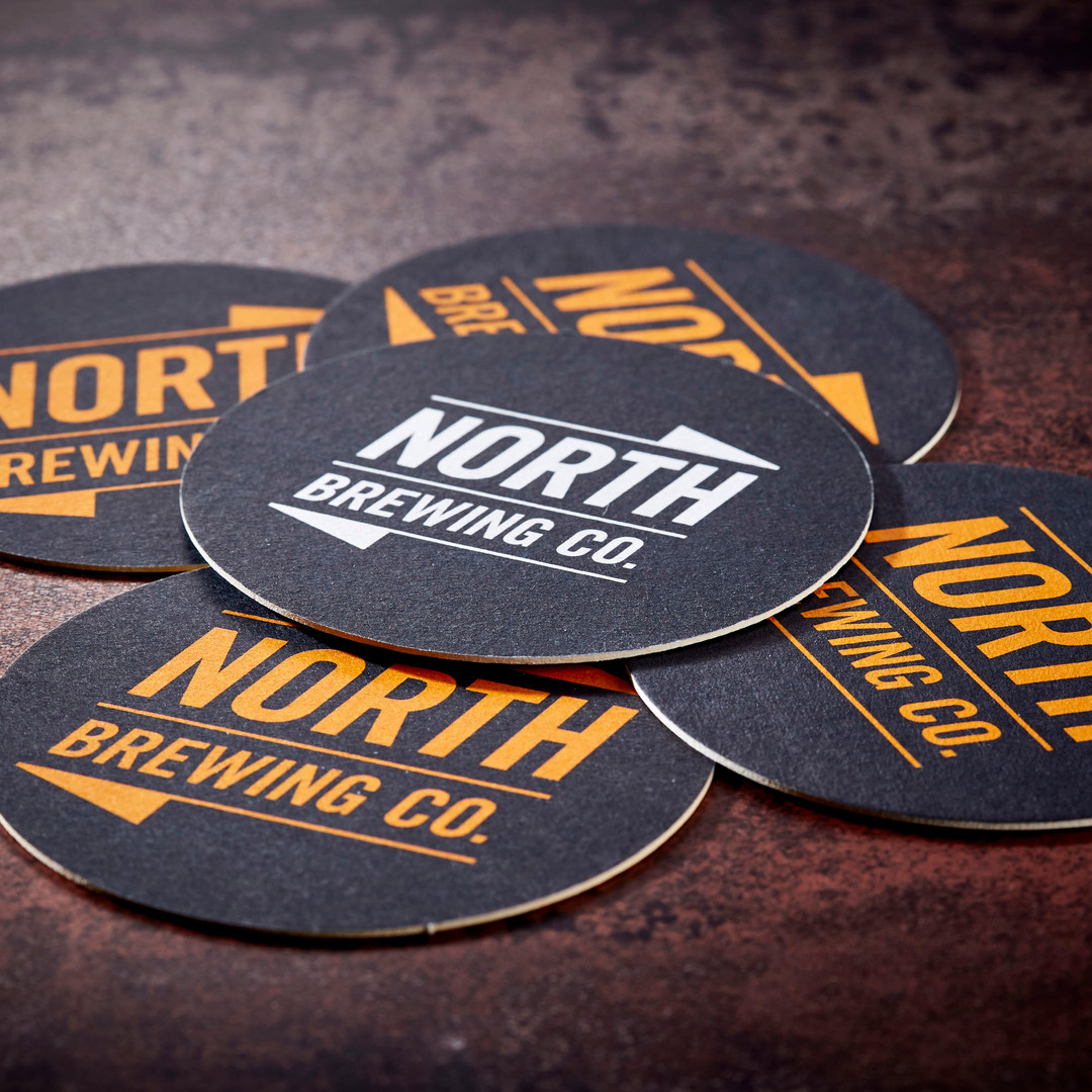 North Brewing Beer Mats Mixed Coasters