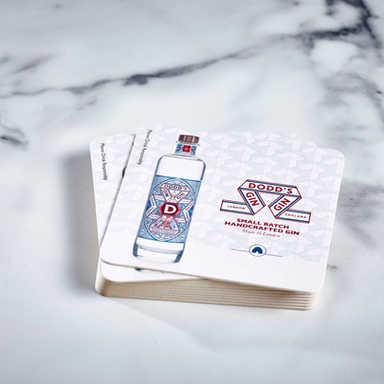Dodds Gin Coasters