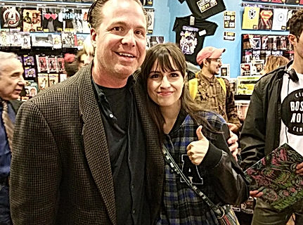 With actress of Return To Nuke Em High A