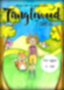 A3 Tanglewood Tales poster with titles a