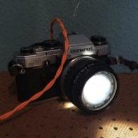 Old School Camera Light