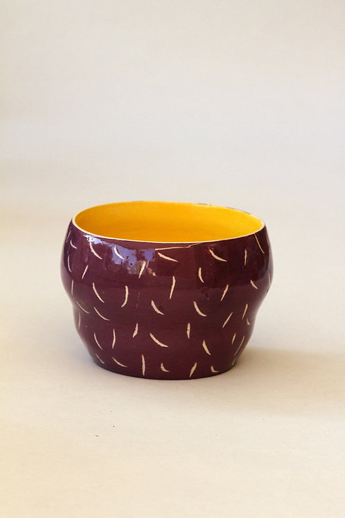 'Figue' Ceramic Pot by LAZARINE