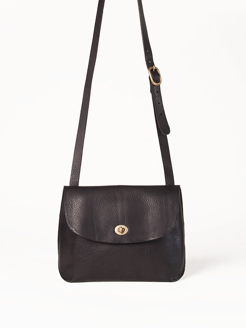 Small Black Jenny Bag by Wolfram Lohr
