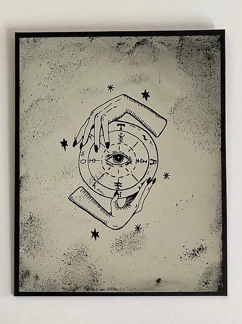 'Eye of the Beholder' Mirror by Kill Medusa Mirrors
