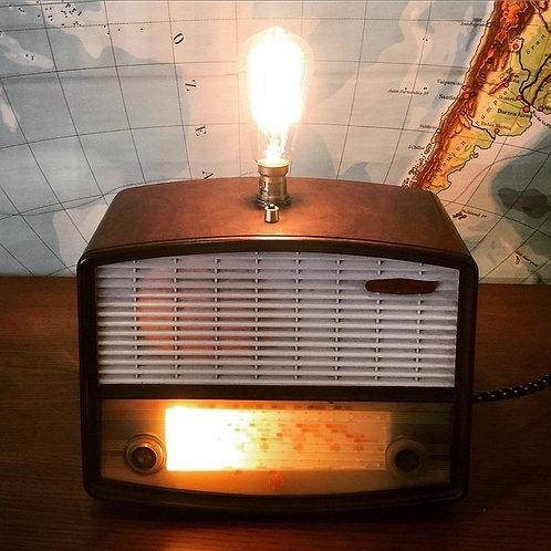 Salvaged Radio Lights