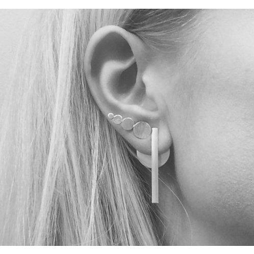 Sterling Silver Ear Jackets by Lulu McQueen