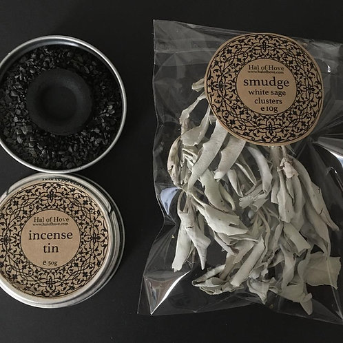 White Sage Incense by Hal of Hove