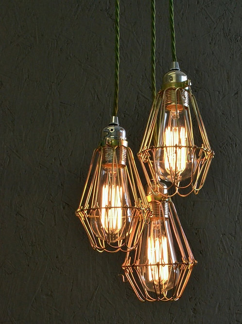 Squirrel Cage Cluster Ceiling Light