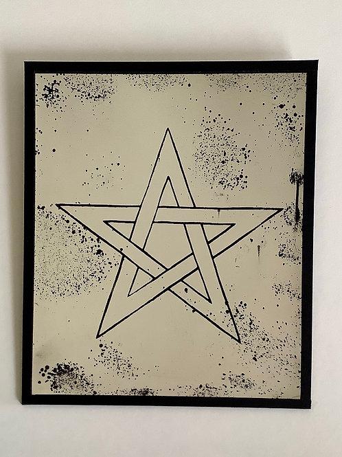 'Pentagram' Mirror by Kill Medusa Mirrors