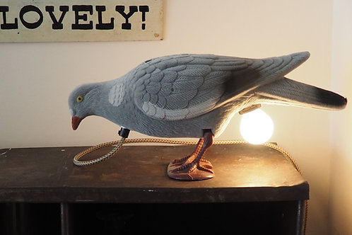 Pigeon Lamp by Lost & Foundry