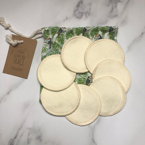 Leave no Trace Washable Makeup Rounds by Wastenot