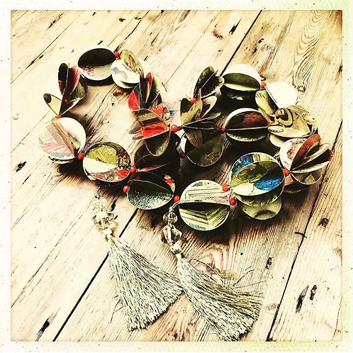 Botticelli Bauble Garland Craft Pack by Bella Does Brighton