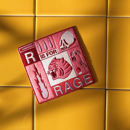'Rage' Patch by HEIHŌ