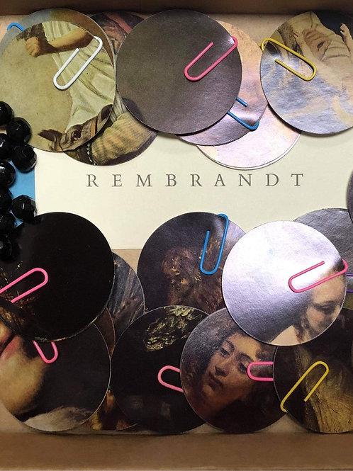 Rembrandt Bauble Garland Craft Pack by Bella Does Brighton