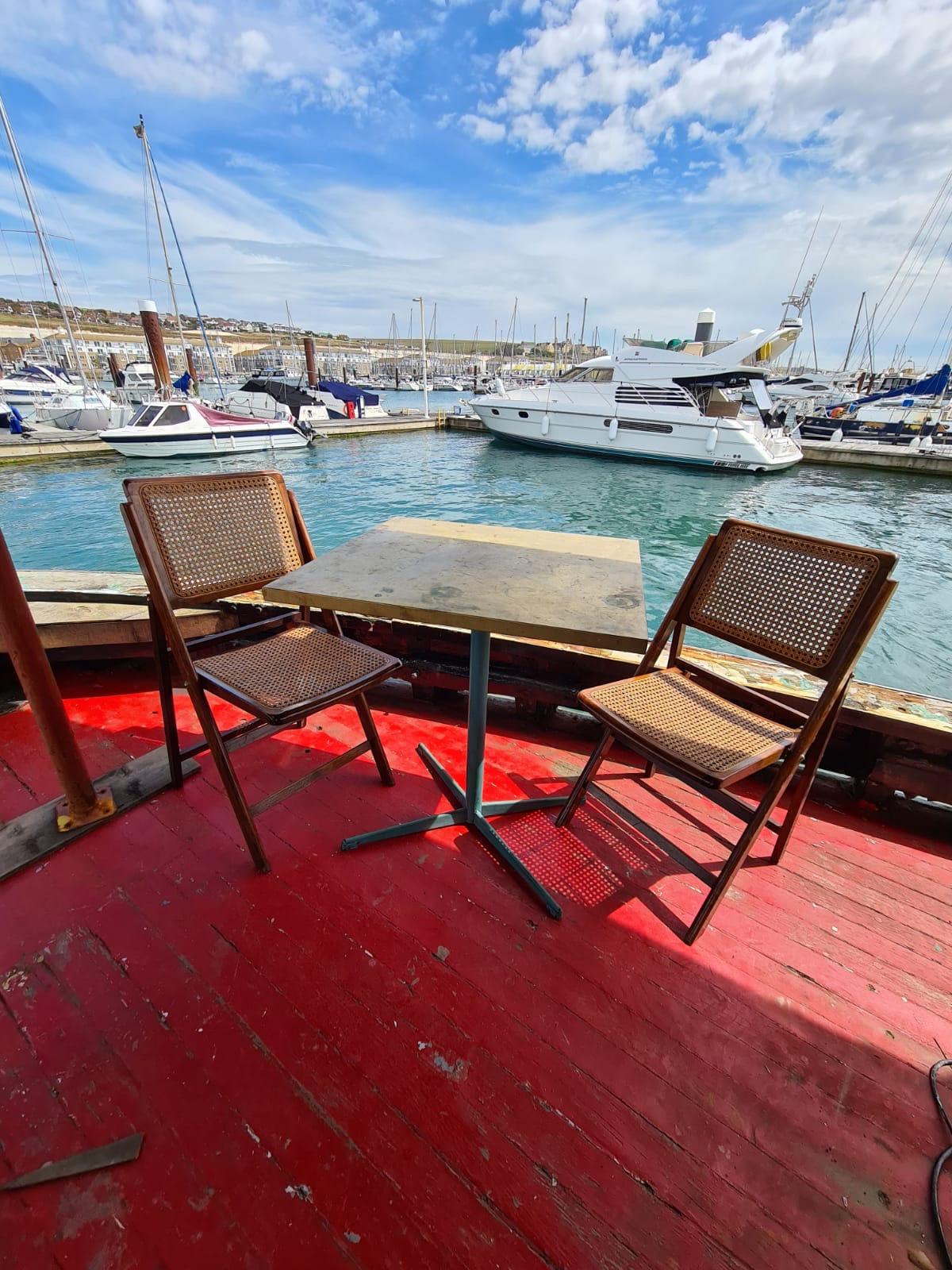 Saturday Workshop On our Brighton Boat